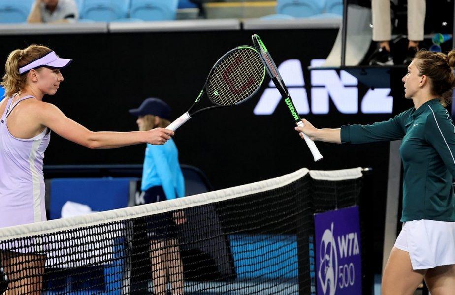 """Momentul cheie al meciului pierdut de Simona Halep. """"Atunci m-am relaxat"""". Ekaterina Alexandrova, uimită de victoria uriaşă de la Melbourne"""