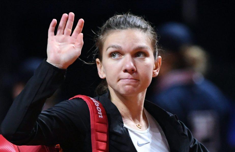 Simona Halep s-a retras din proba de dublu de la Gippsland Trophy, după ce a acuzat probleme medicale în meciul cu Alexandrova