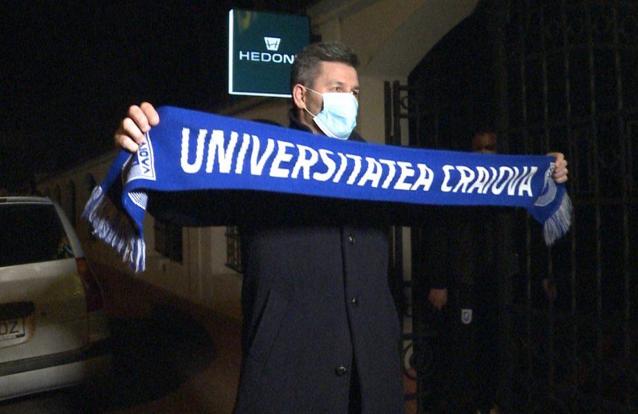 Ouzounidis a ajuns la Craiova! Gestul cu care noul antrenor i-a cucerit pe fanii olteni. Ce obiectiv i-au stabilit şefii clubului