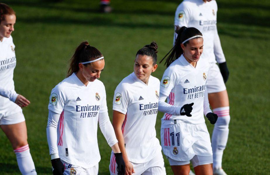 Uluitor! O jucătoare de la Real Madrid a avut nevoie de 155 de secunde pentru a înscrie un hat-trick! S-au marcat 4 goluri în 4 minute