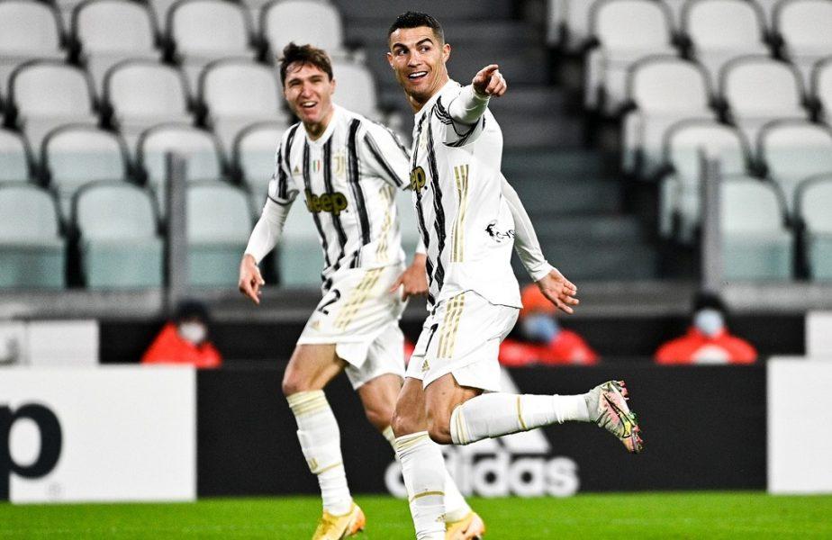 VIDEO | Cristiano Ronaldo a atins o bornă fabuloasă la o zi după ce a împlinit 36 de ani! Ce a reuşit în Juventus-Roma 2-0. Faza care a devenit virală