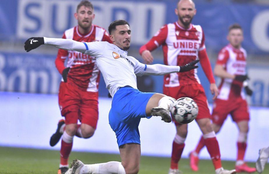 """Şi învinsă, şi fără jucători! Dinamo, băgată în corzi de Craiova. Juan Camara va semna cu oltenii. Chiar şi golgheterul """"câinilor"""" a anunţat că vrea să plece"""