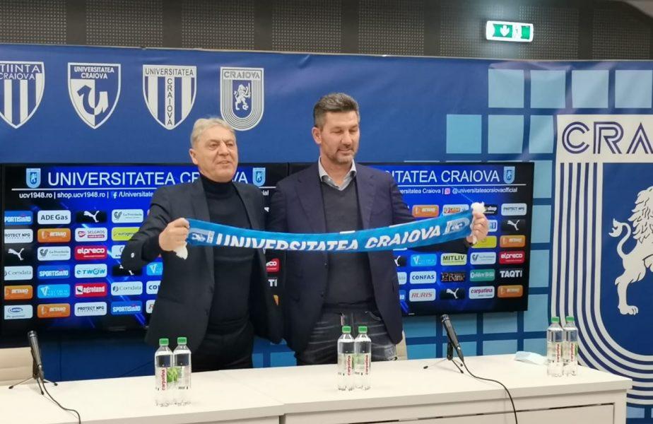 """Oficial   Marinos Ouzounidis a fost prezentat la Universitatea Craiova. Ce a spus de lupta la titlu şi de grupele Champions League. """"Acolo trebuie să lucrăm"""""""
