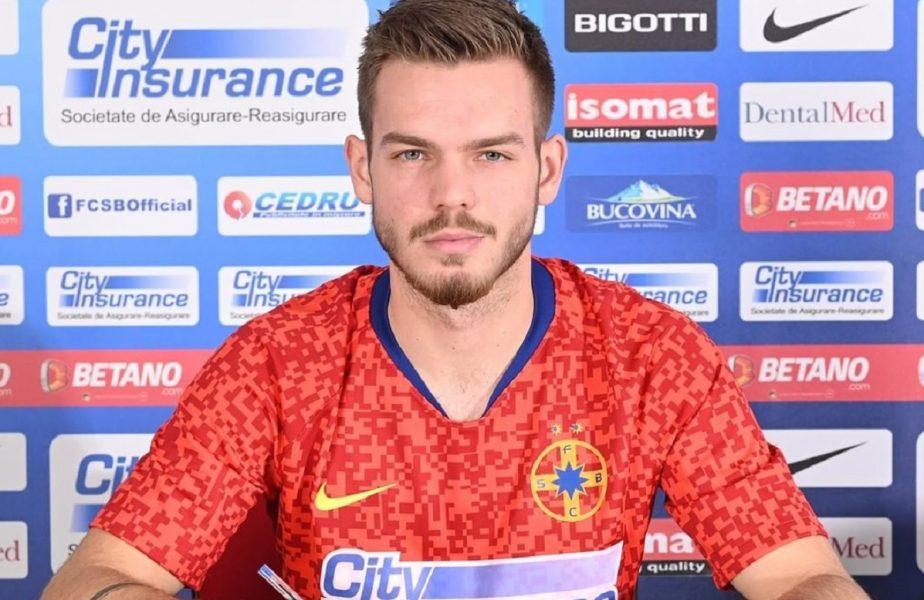 """Denis Haruţ a primit """"botezul"""" la FCSB! A fost înlocuit după 45 de minute în meciul cu Clinceni. Trei schimbări făcute la pauză de Toni Petrea"""