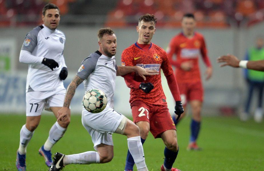 FCSB – Academica Clinceni 0-1. Rezultat şocant în Liga 1. Liderul a pierdut după nouă etape! CFR poate urca pe primul loc