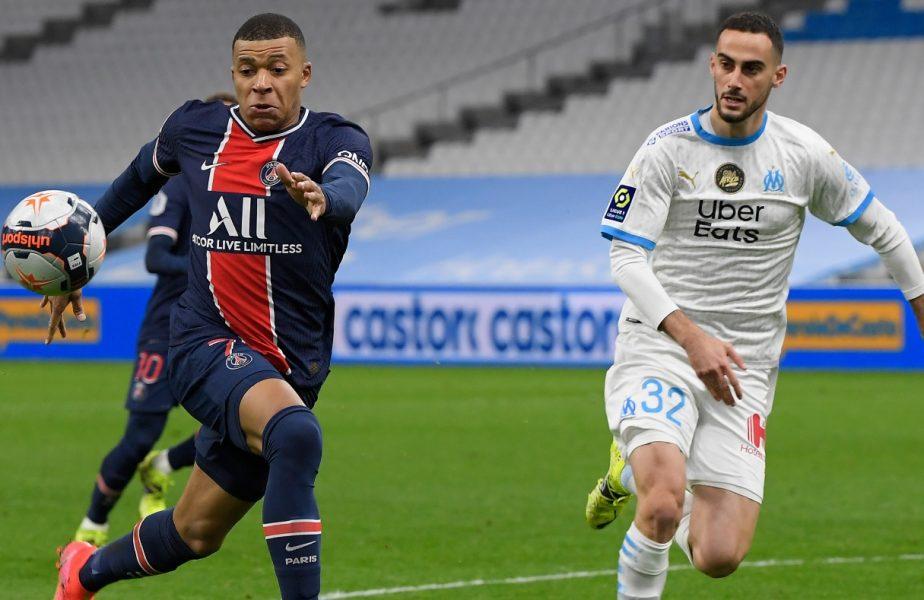 Kylian Mbappe a dat radarul peste cap! Sprint cu 36 km/h şi un gol senzaţional în Marseille – PSG 0-2