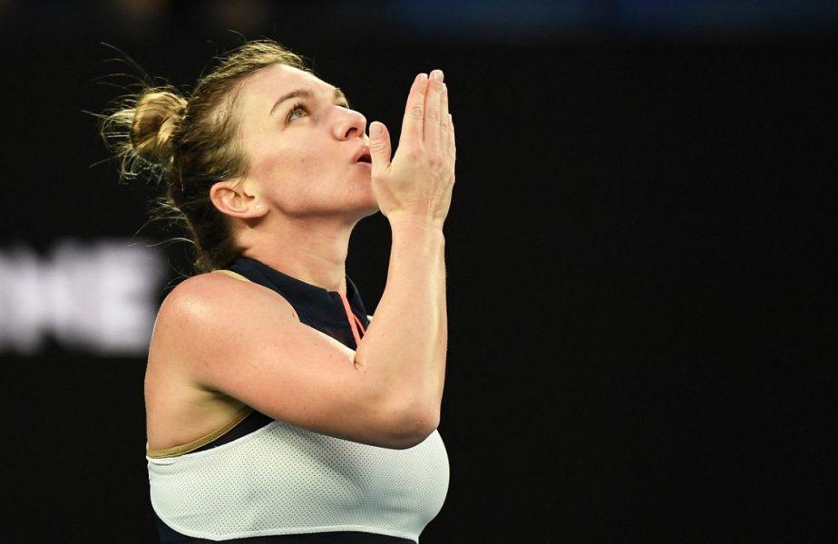 """VIDEO   Simona Halep, debut încântător la Australian Open 2021. """"A fost grozav. Sunt în formă!"""". Ce a spus despre meciul de foc cu Ajla Tomljanovic"""