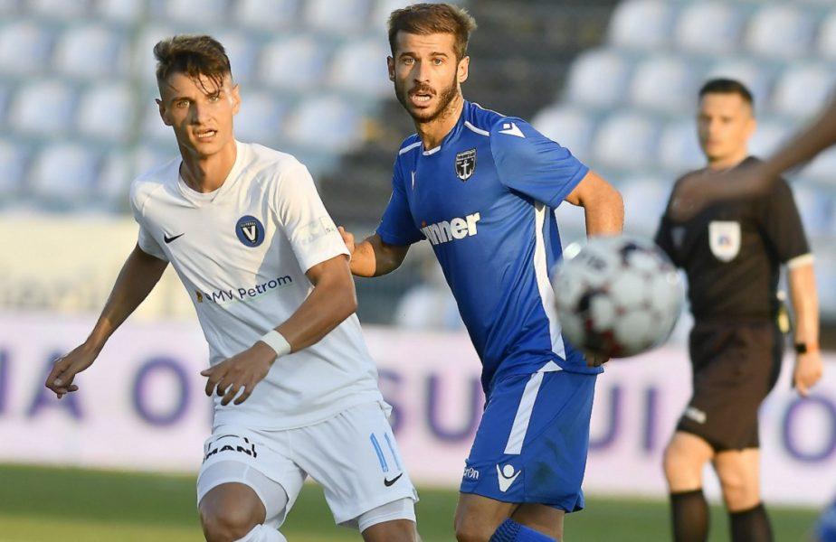 FC Viitorul – FC Voluntari 0-1. Victorie imensă pentru ilfoveni! Mircea Rednic, sub presiune după al șaptelea meci fără victorie