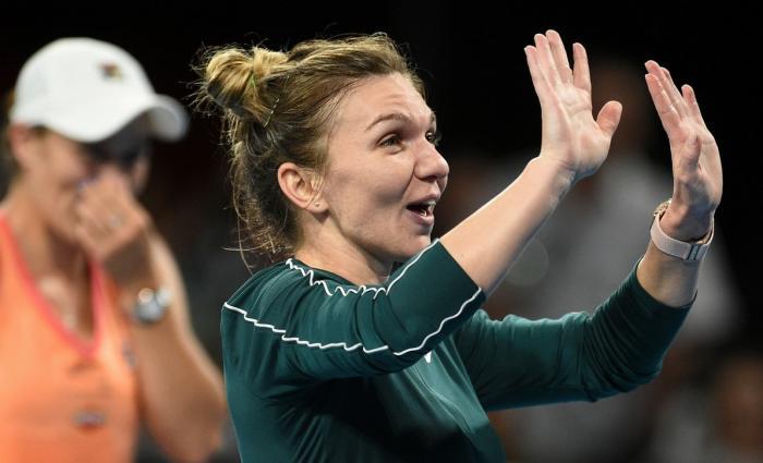 """Simona Halep Australian Open 2021   Întrebarea pe care organizatorii i-au adresat-o, după victoria cu Lizette Cabrera: """"Eşti sigură, Simona Halep?"""""""