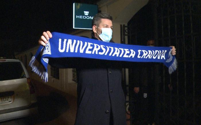 Primul transfer al lui Marinos Ouzounidis la Universitatea Craiova. Oltenii și-au luat un mijlocaș de titlu