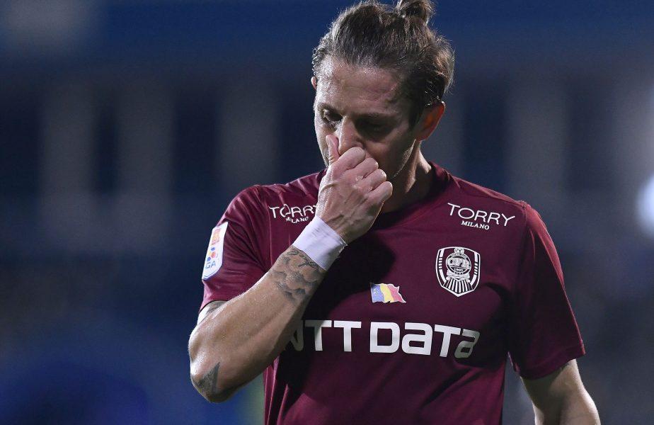 """Ciprian Deac, în depresie după Botoşani – CFR Cluj 2-1: """"E dureros! La noi nu se acceptă aşa ceva!"""" A devenit nostalgic după Dan Petrescu"""