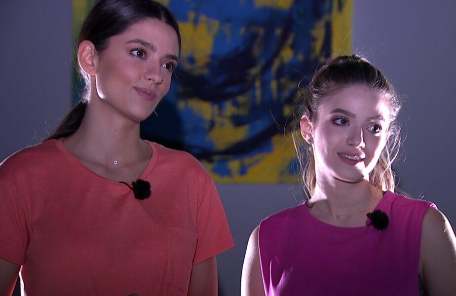 VIDEO EXCLUSIV | Oana Moșneagu și Mara Oprea, la momentul adevărului! Ce sportivi ar vrea să joace și ce au făcut înainte de a ajunge în serialul Adela