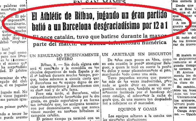 """90 de ani de la cel mai mare """"omor"""" suferit de FC Barcelona: 1-12 cu Athletic Bilbao. Bata a marcat șapte goluri!"""
