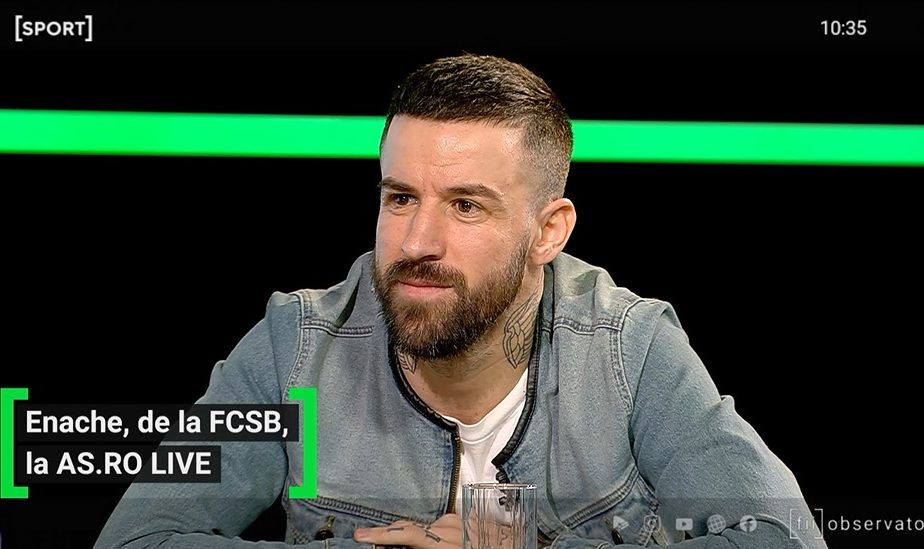 """EXCLUSIV AS.ro LIVE   Enache, ironii la adresa FCSB: """"Nu a fost un pas în față, eu eram obișnuit cu performanța!"""" Becali, ținut în frâu de Reghecampf"""