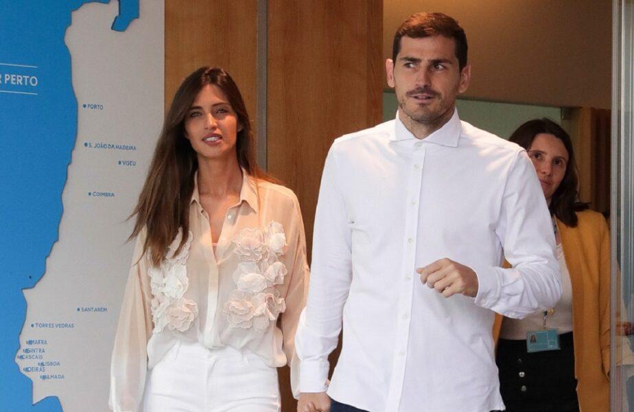 Sara Carbonero şi Iker Casillas