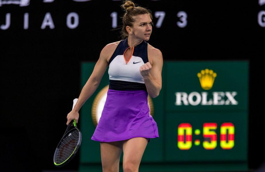 """Australian Open 2021   Simona Halep – Ajla Tomljanovic 4-6, 6-4, 7-5. VICTORIE! Românca s-a calificat în turul trei. Halep a avut o revenire fabuloasă în """"decisiv""""!"""