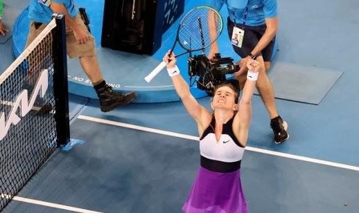 """Australian Open 2021   Imaginile descătuşării! Simona Halep, bucurie uriaşă după victoria cu Ajla Tomljanovic. """"Bucuria de a câştiga"""""""
