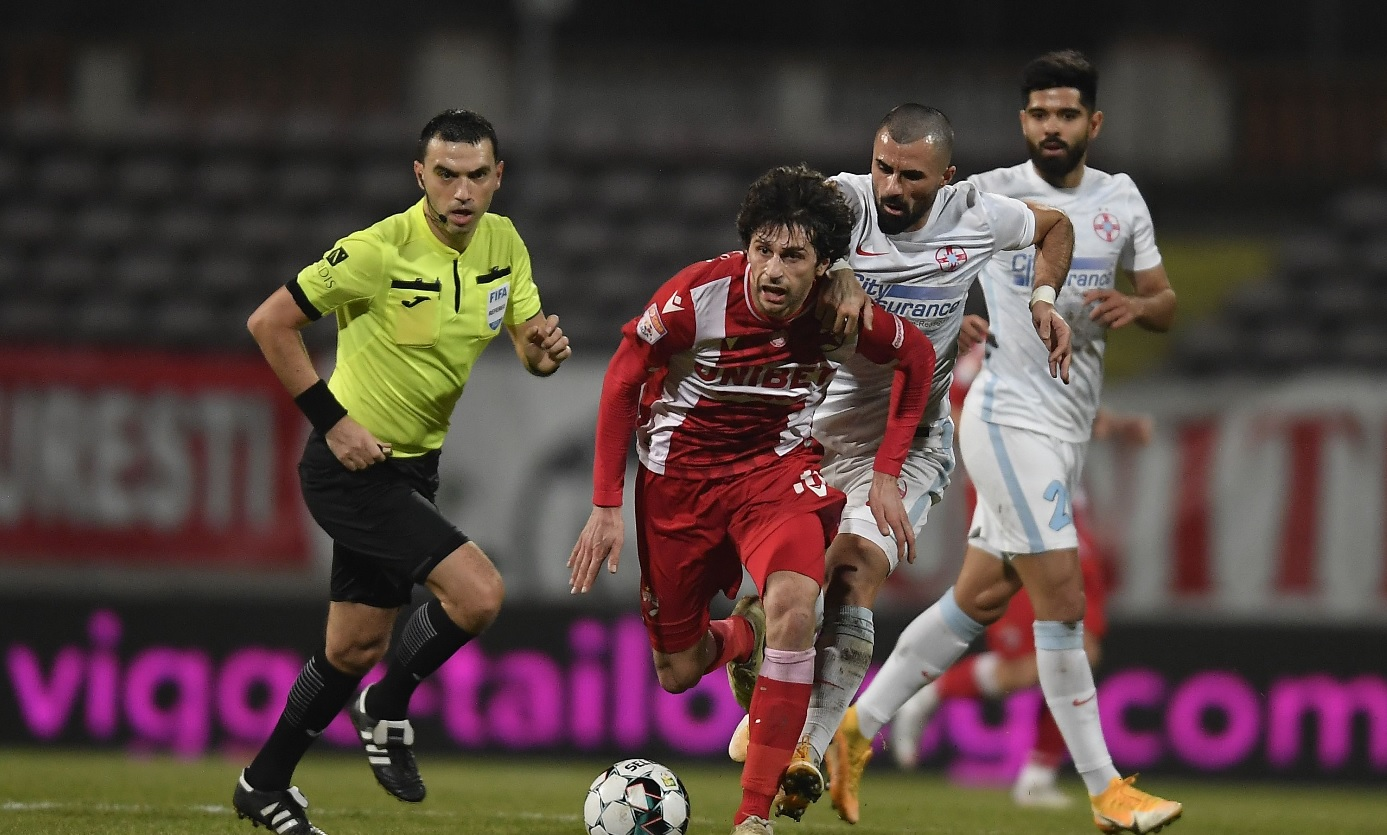 Diego Fabbrini, în Dinamo - FCSB 1-0