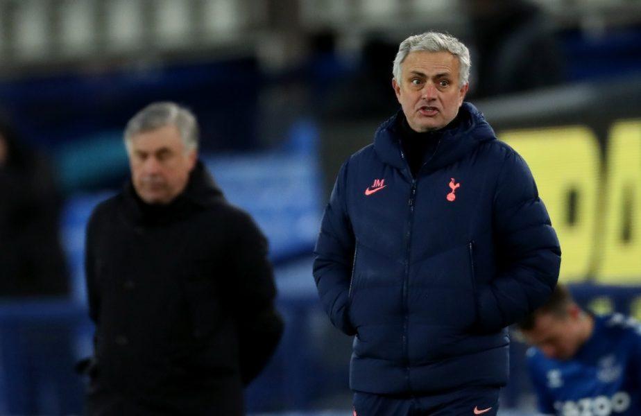 """Pe Mourinho l-au ajuns propriile ironii! """"5-4 este scor de hochei. E ruşinos!"""" Tottenham a fost învinsă de Everton chiar cu 5-4"""