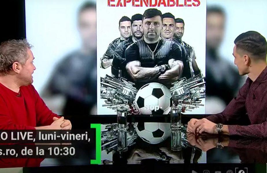 """EXCLUSIV AS.ro LIVE   Florin Gardoş, aproape să intre în vestiarul lui FCSB :) """"M-am gândit puţin!"""" Cum i-a venit ideea cu """"The Expendables"""" după victoria lui Clinceni"""