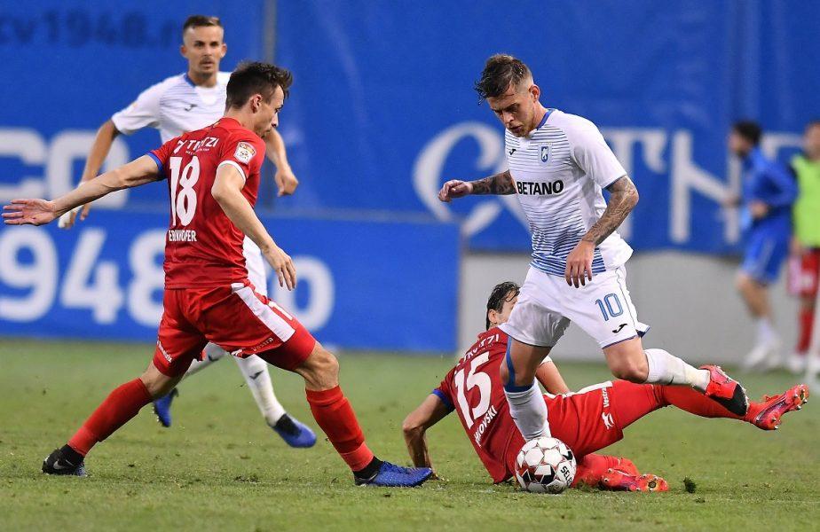 FC Botoşani – Universitatea Craiova 0-1. Ouzounidis, debut perfect pe banca oltenilor. Cicâldău şi-a calificat echipa în sferturile Cupei României!