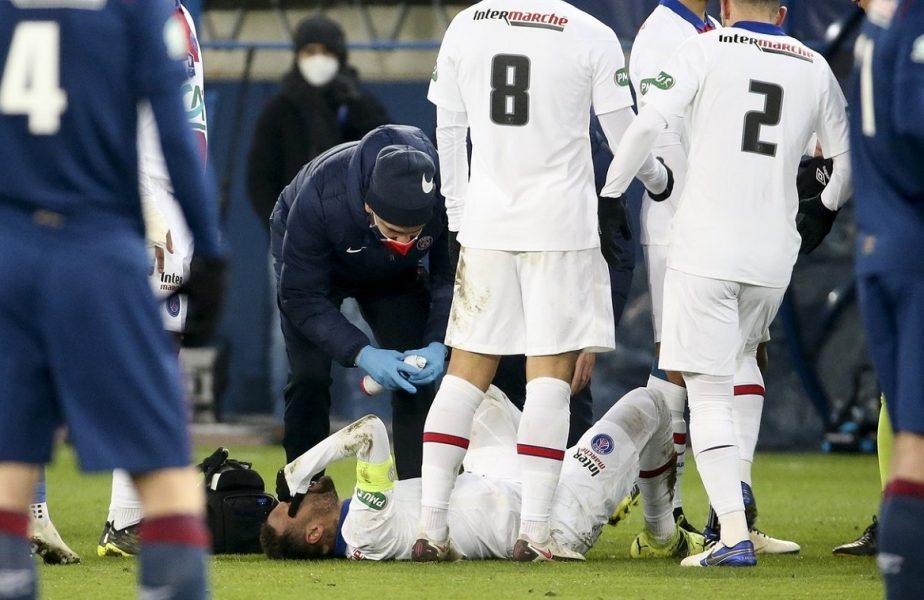 """Neymar, prima reacţie după s-a accidentat şi nu va juca împotriva Barcelonei, pe Camp Nou. """"Durerea e imensă, nu mă pot opri din plâns"""""""