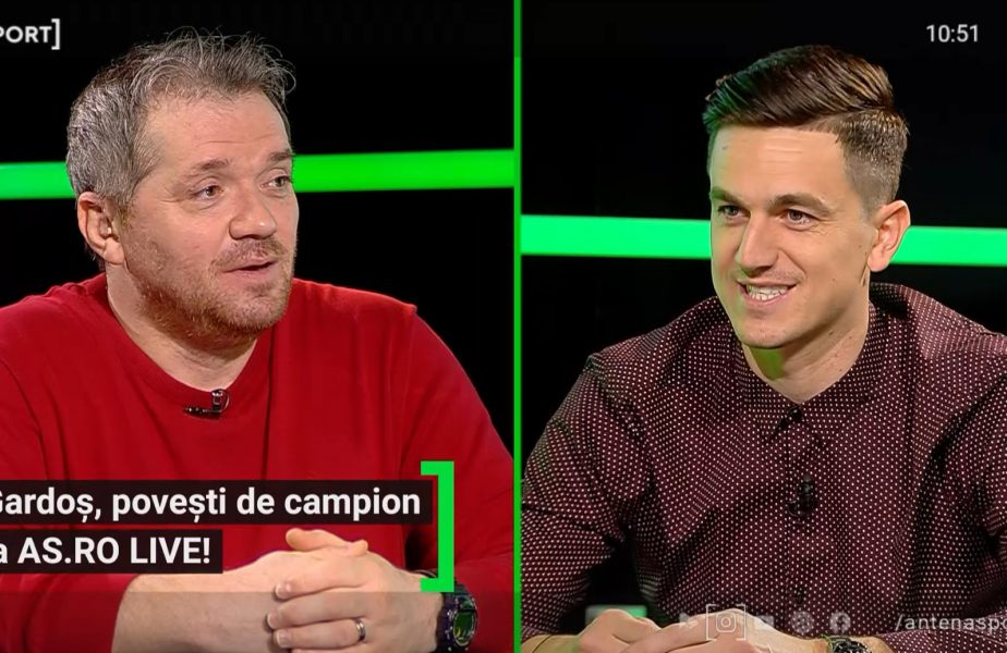 """EXCLUSIV AS.ro LIVE   Lui Florin Gardoș i s-a închis ușa-n nas la FCSB: """"Poate nu am bătut la ușa care trebuia!"""""""