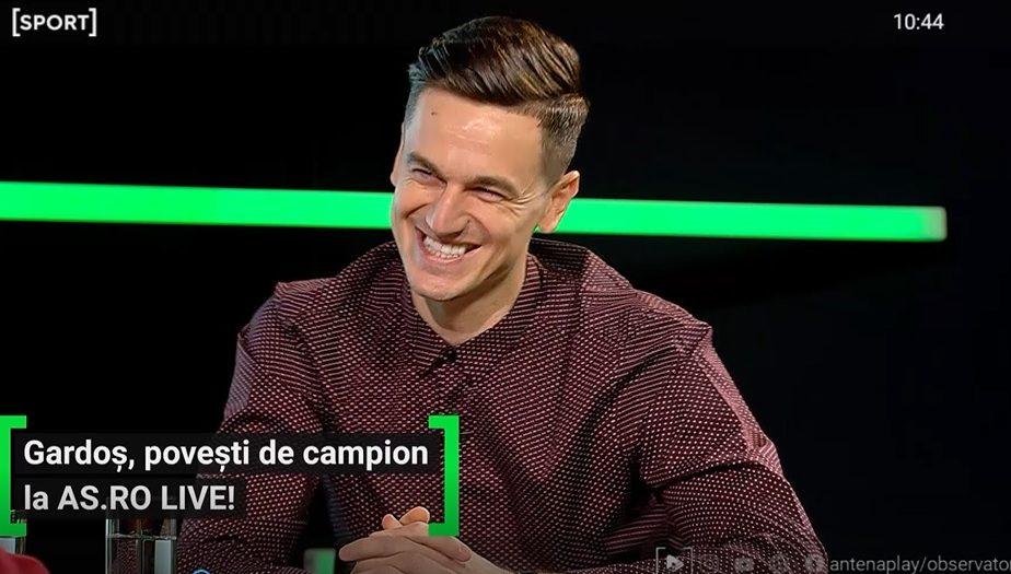 EXCLUSIV AS.ro LIVE | Ciprian Tătărușanu, reacție fabuloasă când l-a văzut pe Florin Gardoș în vestiar la FCSB
