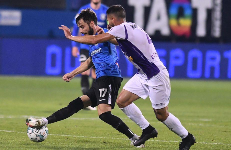 FC Argeş – Viitorul 1-0. Trei înfrângeri la rând pentru echipa lui Mircea Rednic. Gazdele nu au mai pierdut de nouă meciuri