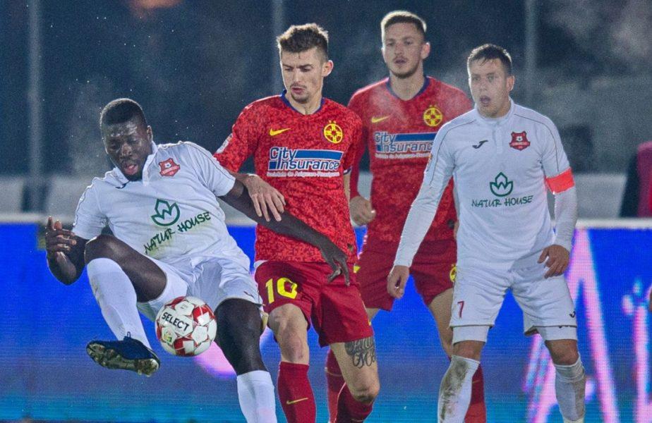 Hermannstadt – FCSB 1-0. Criză la echipa lui Becali, care a suferit a treia înfrângere la rând! Sibienii au înscris golul victoriei după un penalty controversat!