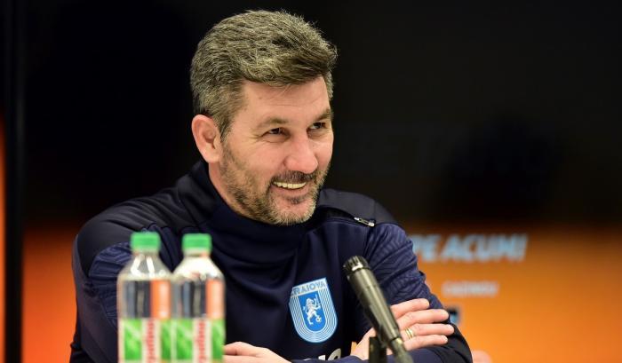 """Marinos Ouzounidis, supărat după primul său meci în Liga 1: """"Nu e nivelul pe care îl vreau"""". Ce semnal de alarmă a tras antrenorul Universităţii Craiova"""