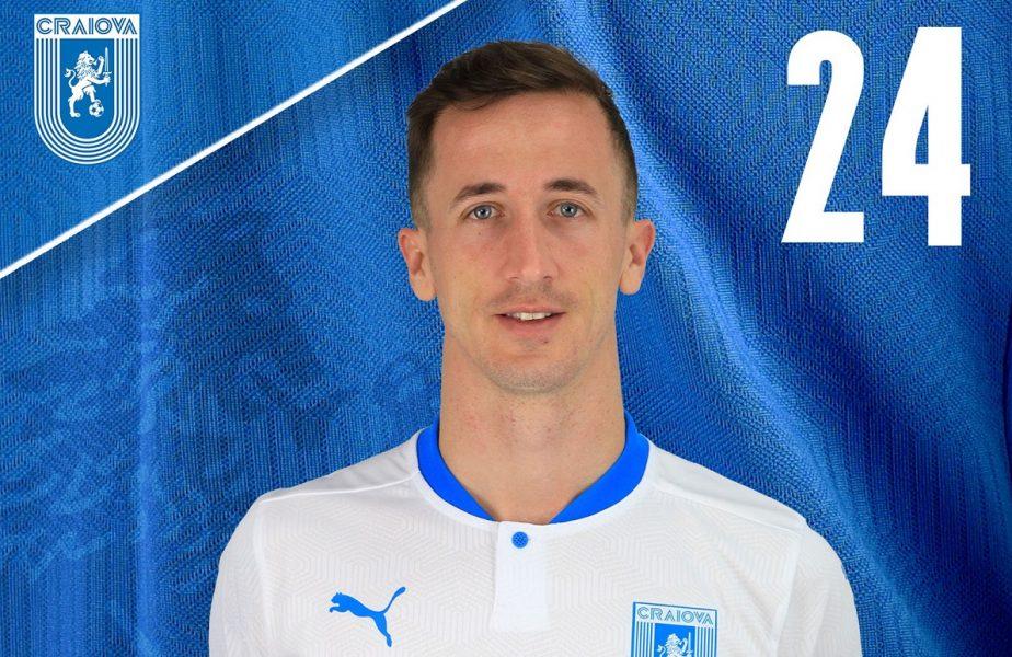 Oficial | Juan Camara a semnat cu Universitatea Craiova! Fotbalistul care a jucat cu Messi la Barcelona, primul transfer în era Ouzounidis