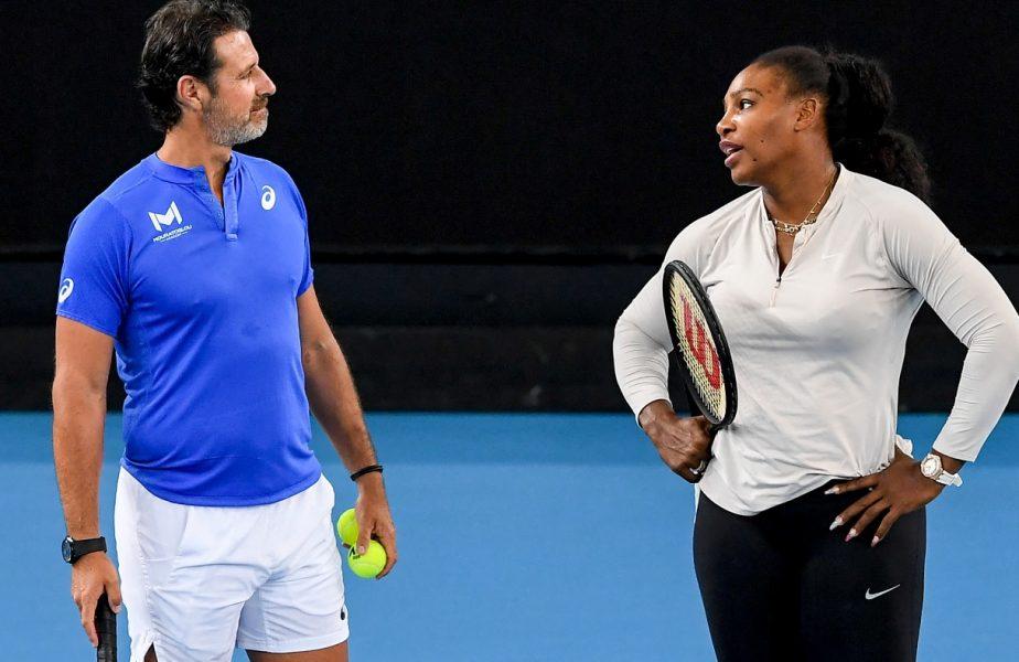 Simona Halep – Serena Williams | Patrick Mouratoglou a dezvăluit obiectivul Serenei. Ce spune despre finala istorică de la Wimbledon