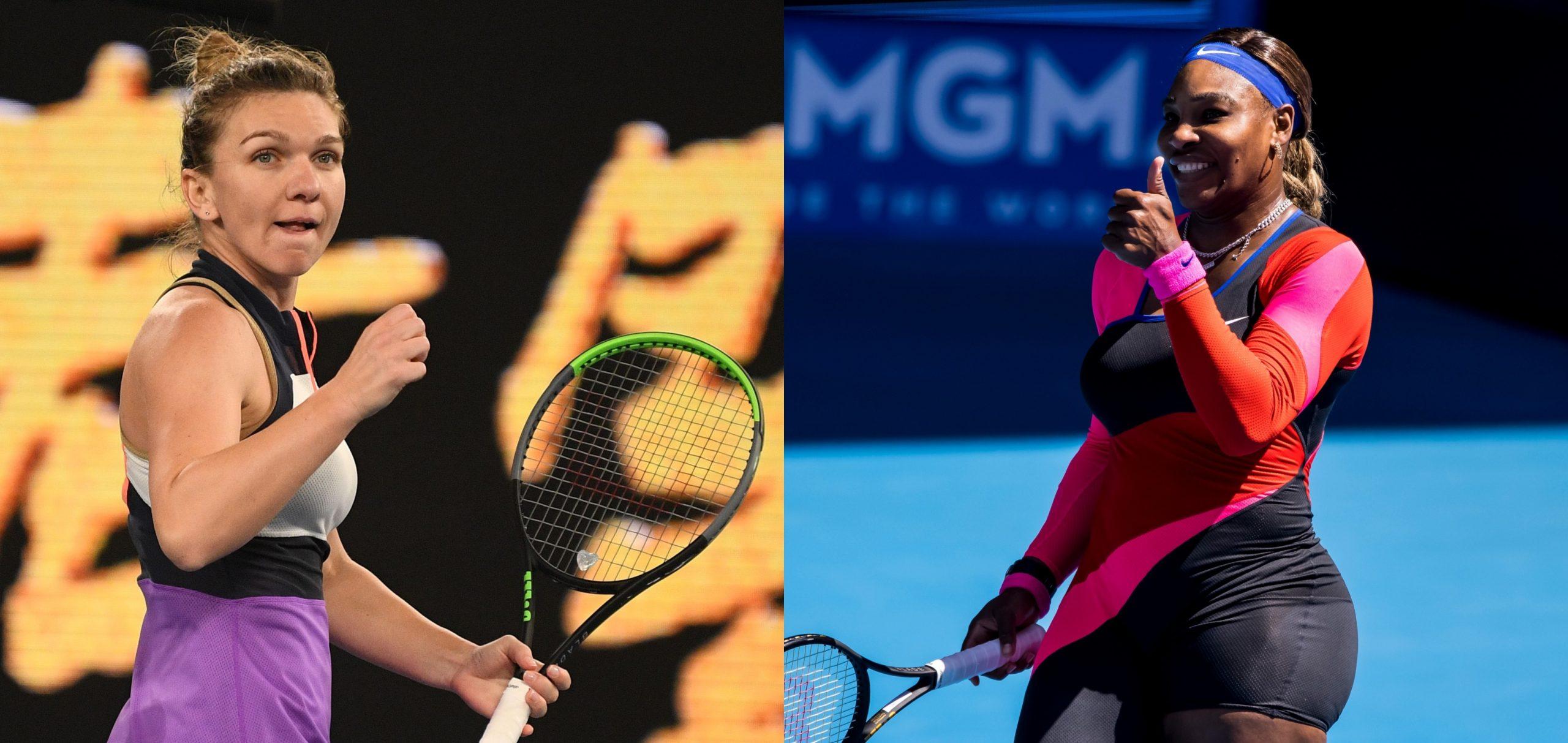 Australian Open 2021   Simona Halep – Serena Williams 3-6, 3-6. Simona Halep a ratat calificarea în semifinale. Serena, prea puternică pentru româncă