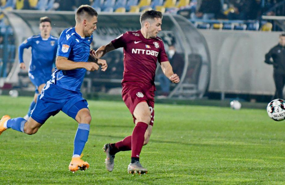 CFR Cluj – FC Voluntari 0-0. Ardelenii au ratat o nouă șansă să urce pe primul loc! Echipa lui Edi Iordănescu s-a încurcat cu penultima clasată. FCSB rămâne lider