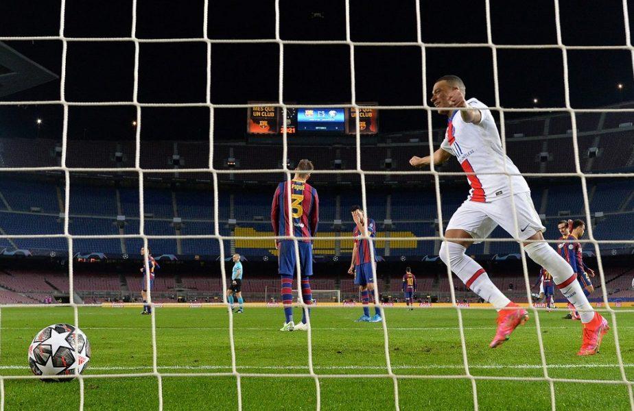 Kylian Mbappe, Barcelona - PSG 1-4