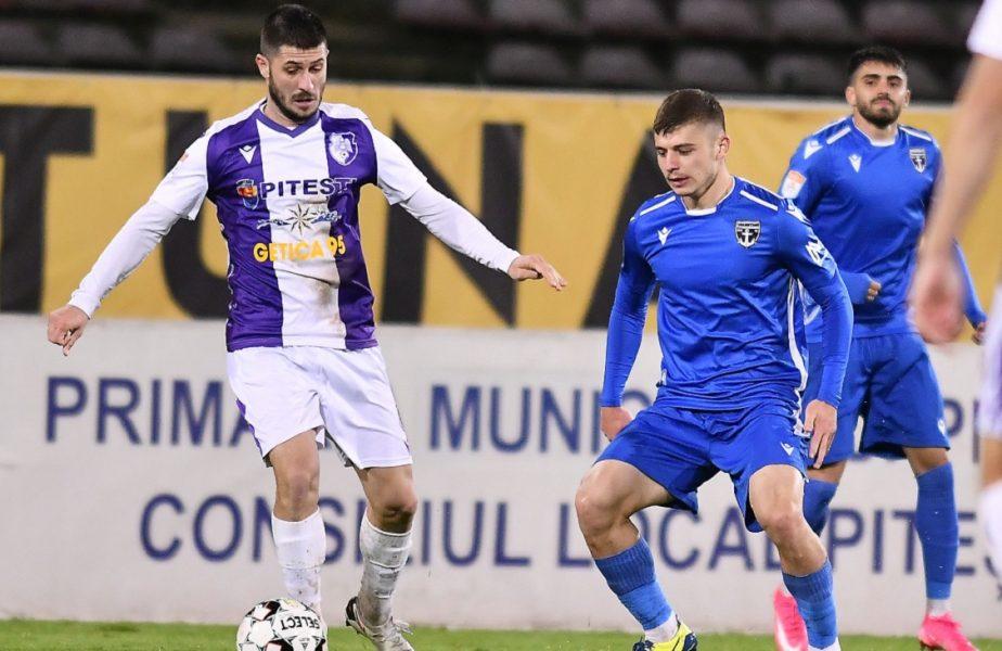 FC Voluntari – FC Argeș 0-1. Tamaş, debut ratat. Oaspeţii au ajuns la 11 meciuri fără înfangere, ca pe vremea lui Dobrin şi Mutu