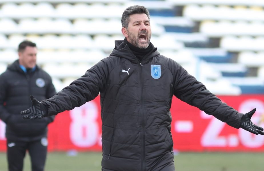 """Ce l-a nemulţuimit pe Ouzounidis, deşi a câştigat în premieră în Liga 1: """"Nu putem schimba totul într-o zi!"""" Craiova n-a luat gol cu antrenorul grec"""