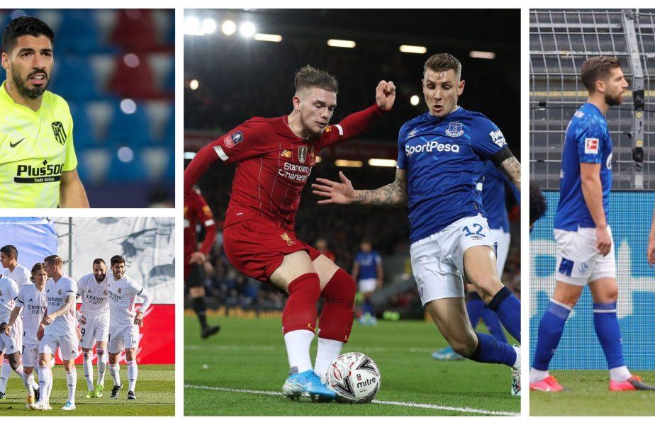 """Liverpool, ucisă de Everton pe Anfield. """"Bestia"""" Haaland a distrus-o pe Schalke. Luptă nebună la titlu în Spania, după victoria celor de la Real Madrid"""