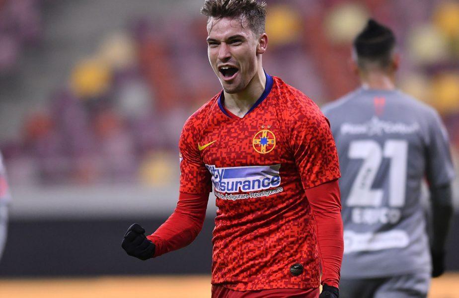 FCSB – Chindia Târgoviște 1-0. Olaru a scos echipa lui Petrea din criză. Coman a fost aproape de o reuşită fabuloasă. Chindia, gol anulat