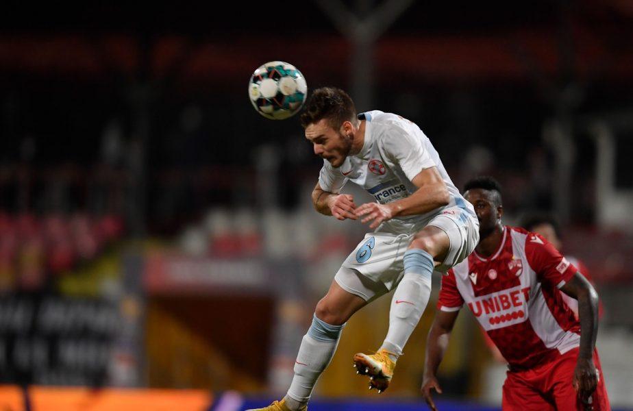 """FCSB – Chindia 1-0. Denis Haruţ îi dă idei lui Gigi Becali! :) Anunţul jucătorului: """"Sunt două posturi pe care pot să joc!"""""""