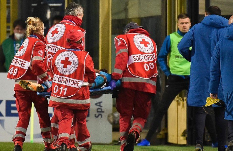 Momente de panică în Italia! Vedeta lui Napoli, Osimhen, a leşinat în mod repetat. A fost transportat de urgenţă la un spital din Bergamo
