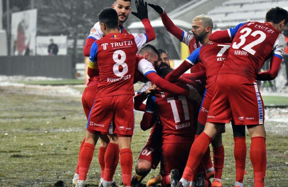 UTA Arad – FC Botoșani 0-0. Moldovenii au egalat-o pe Sepsi şi sunt mai aproape de play-off. Gazdele, al treilea egal la rând
