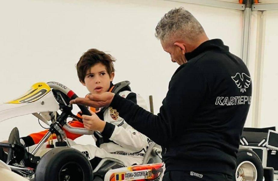 Furios si iute! Un puşti de doar 12 ani visează să devină primul român din Formula 1. Performanţa impresionantă pe care tocmai a reuşit-o