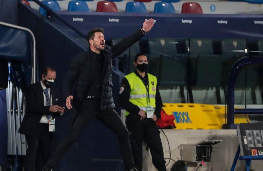 """Primele declaraţii făcute de Diego Simeone la Bucureşti, înainte de Atletico – Chelsea: """"Ne simţim ca acasă"""". Mesajul transmis lui Luis Suarez"""
