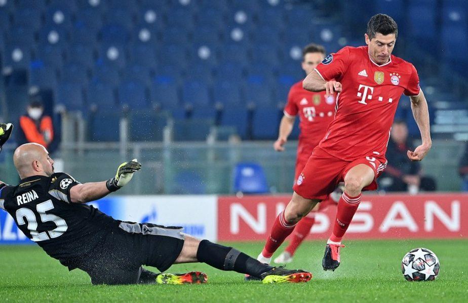 Robert Lewandowski a scris istorie în Champions League! A înscris în Lazio – Bayern şi calcă pe urmele lui Ronaldo şi Messi