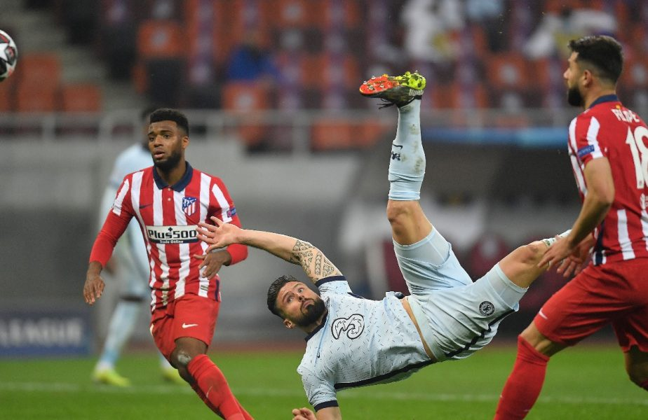 Olivier Giroud, în Atletico - Chelsea 0-1