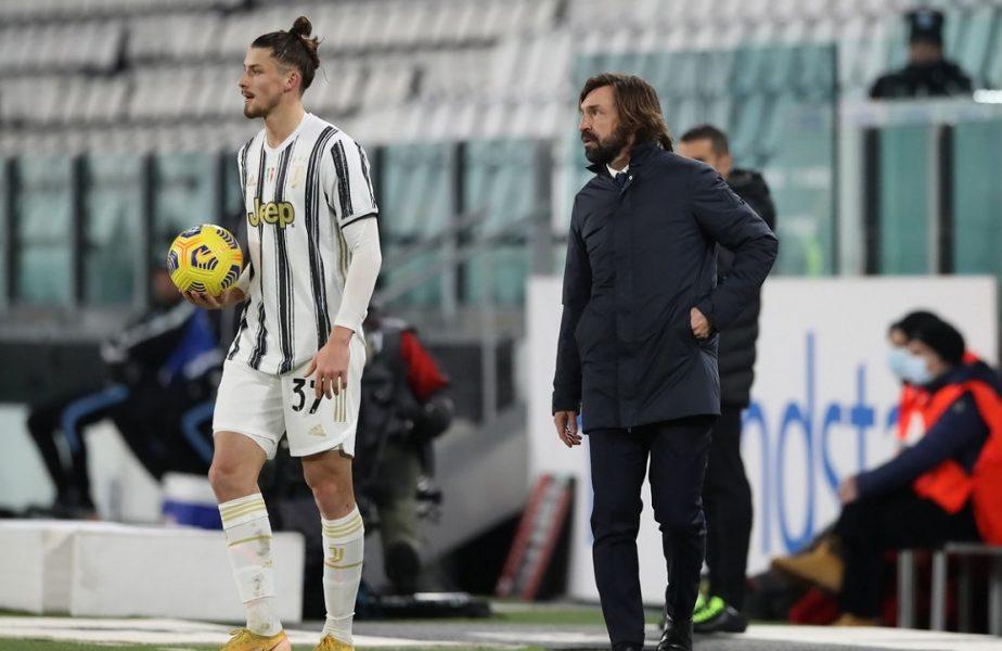 Radu Drăguşin, soluţia salvatoare pentru Andrea Pirlo. Cum ar putea deveni românul titular de bază la Juventus. Anunţul făcut de Gazzetta dello Sport