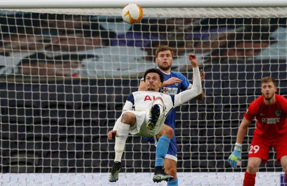 VIDEO | Jucătorul renegat de Jose Mourinho îi face concurență lui Olivier Giroud! Golul de pus în ramă reușit de Dele Alli pentru Tottenham în Europa League
