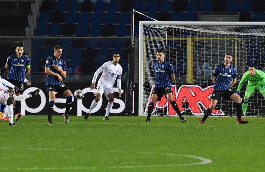 Champions League | Atalanta – Real Madrid 0-1. Gol Mendy, în minutul 86. VAR-ul nu a corectat o eliminare gratuită! Gladbach – Manchester City 0-2. Englezii, de neoprit la Budapesta